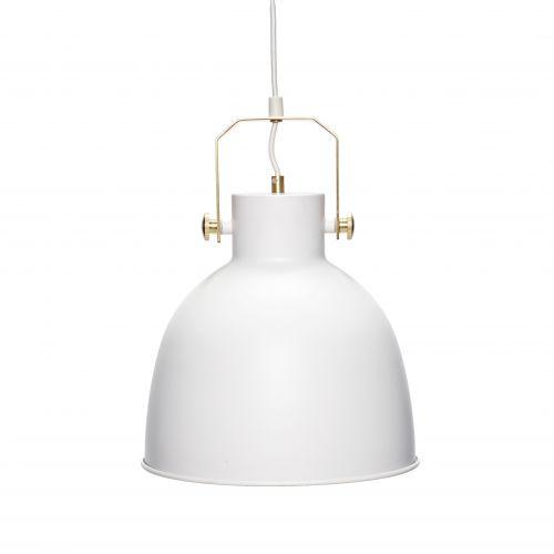 Hübsch / Závěsná lampa White gold