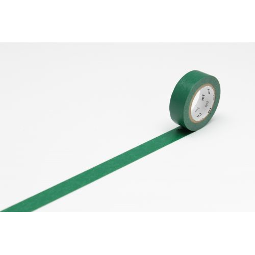 mt / Japonská papierová páska Peacock Green