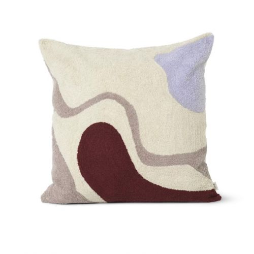 ferm LIVING / Polštář Vista Cushion Off White 50 x 50 cm