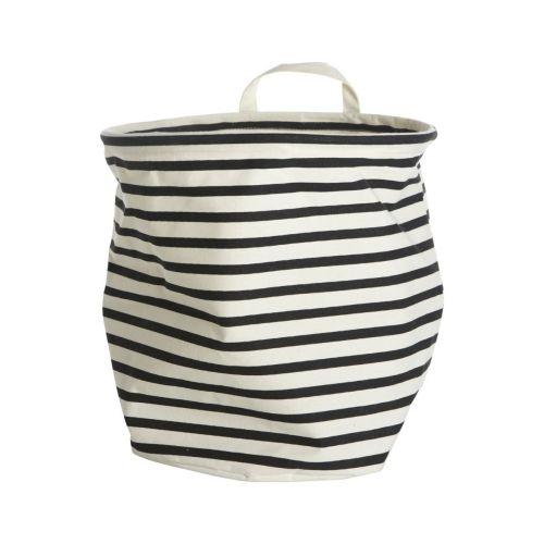 House Doctor / Textilný košík Stripes 30 cm