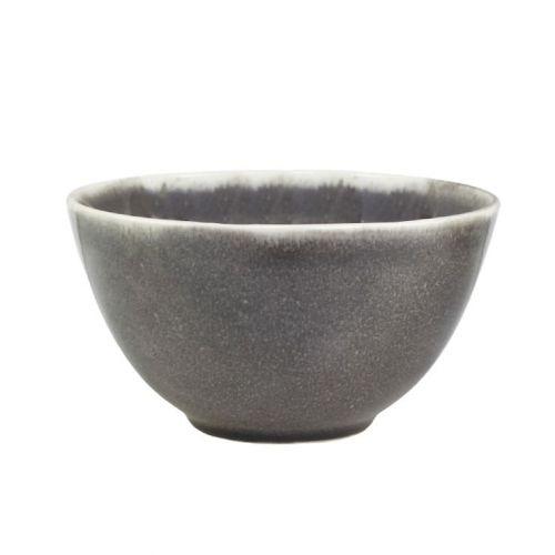 Chic Antique / Keramická miska Calais Coal Grey ⌀ 14,5 cm