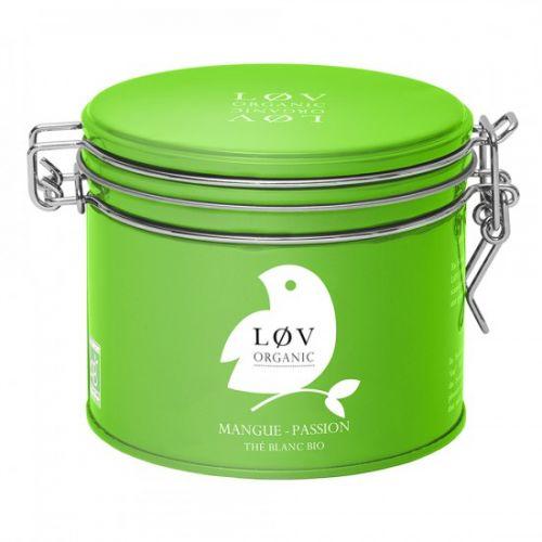 Løv Organic / Biely čaj Mango Passion fruit - 70 g