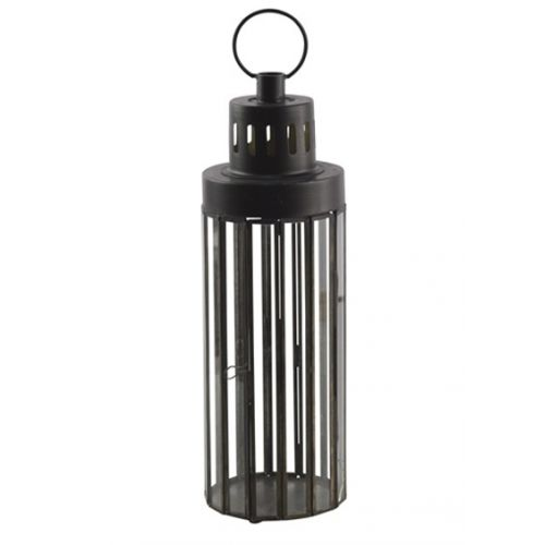 Chic Antique / Kovový lampáš Lantern Pillar 35 cm