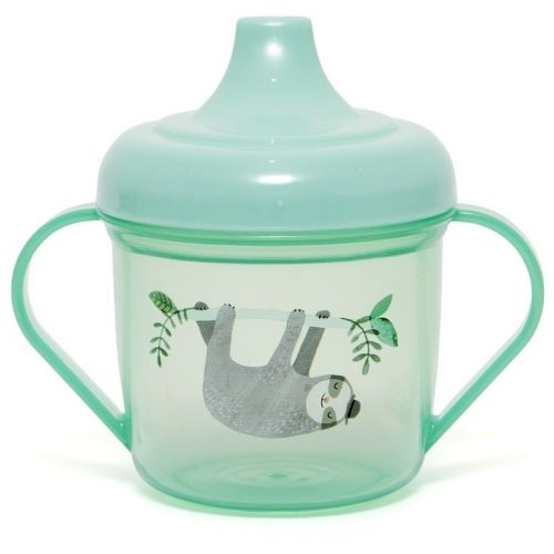 PETIT MONKEY / Detský hrnček so zobáčikom Sloth Green