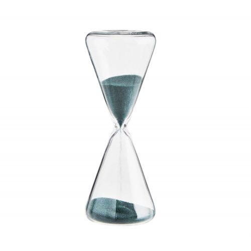 MADAM STOLTZ / Presýpacie hodiny Clear Green 5 min