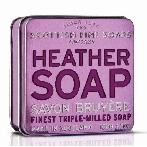 SCOTTISH FINE SOAPS / Darčekové mydlo v plechovke - šedivník