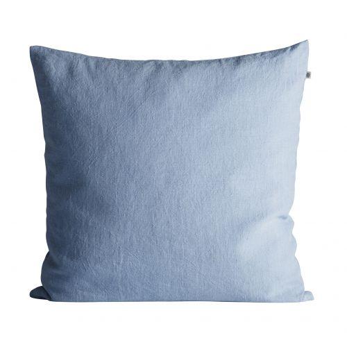 Tine K Home / Ľanová obliečka na vankúš Baby Blue 50x50cm