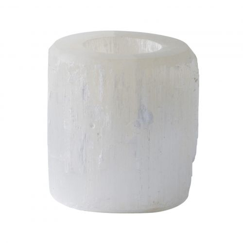 Tine K Home / Svietnik na čajovú sviečku Selenite White