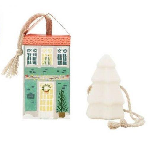 CASTELBEL / Vianočné závesné mydlo Christmas Tree - zelená