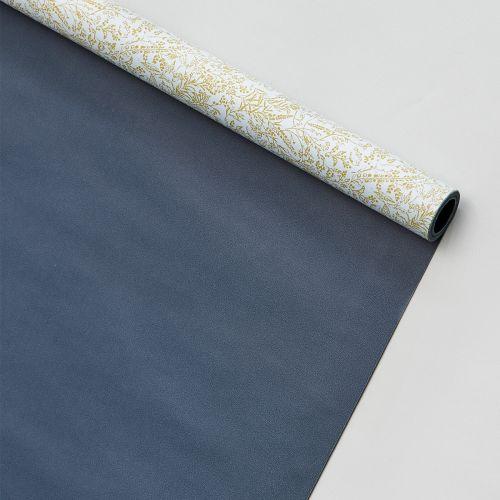 MONOGRAPH / Obojstranný baliaci papier Flora - 5 m