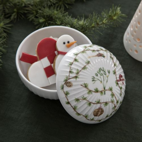 KÄHLER / Porcelánová dózička Hammershøi Christmas