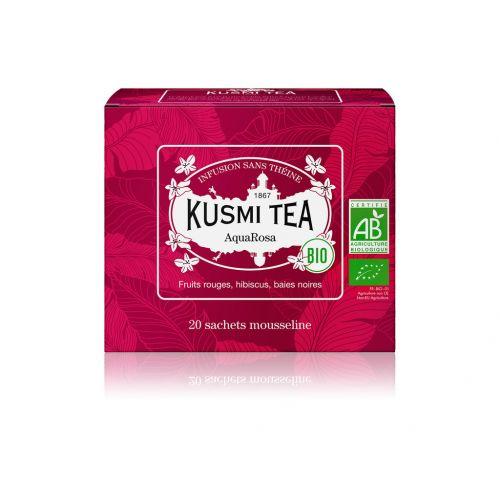 KUSMI TEA / Ovocný čaj Kusmi Tea - AquaRosa 20 sáčků