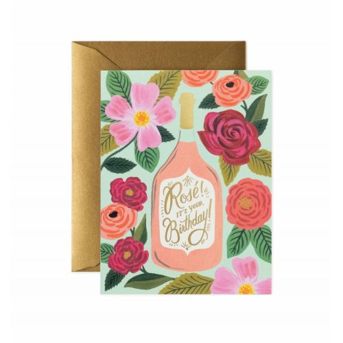 Rifle Paper Co. / Přání s obálkou Rosé It's Your Birthday