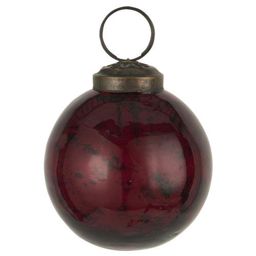 IB LAURSEN / Vianočná ozdoba Pebbled Glass Rhododendron
