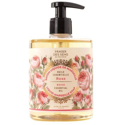 Panier des Sens / Omladzujúce tekuté mydlo - ruža