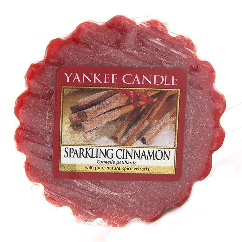 Yankee Candle / Vosk do aromalampy Yankee Candle - Sparkling Cinnamon