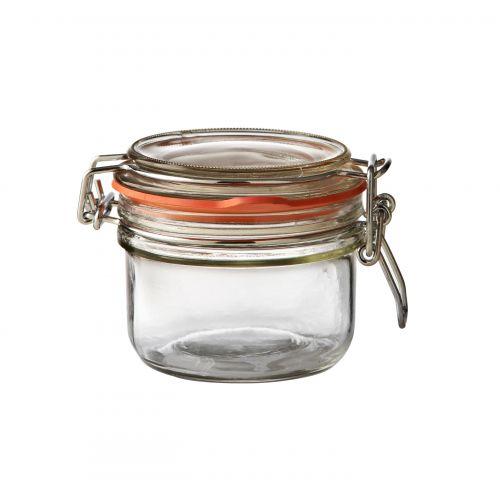 KILNER / Okrúhly zavárací pohár s klipsom 125 ml