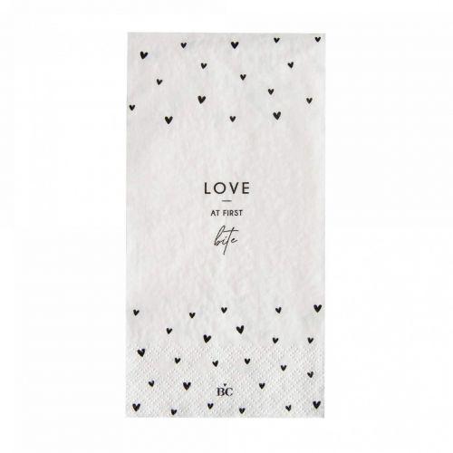 Bastion Collections / Papierové servítky Love at first bite - 16 ks