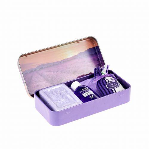ESPRIT PROVENCE / Darčekový set v krabičke - mydlo a esenciálny olej Lavande 2