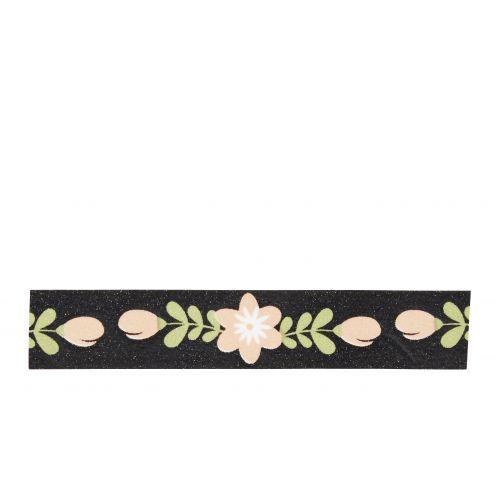 MADAM STOLTZ / Dizajnová samolepiaca páska Flower Strings