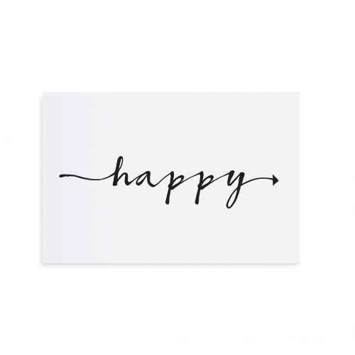 TAFELGUT / Pohlednice Happy