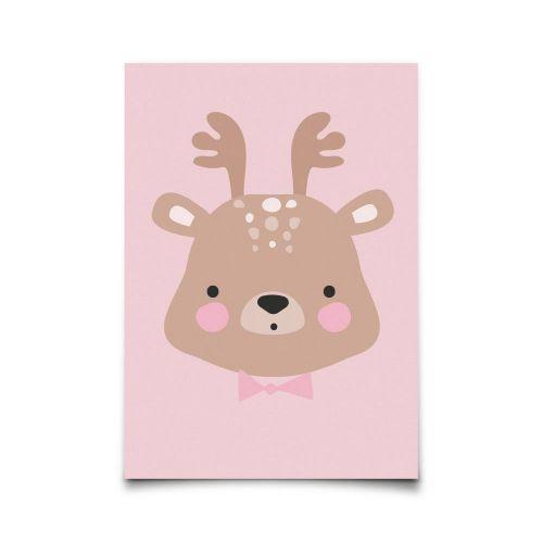 EEF lillemor / Pohľadnica Ms. Deer