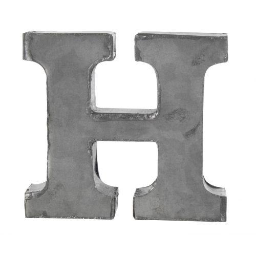 MADAM STOLTZ / Kovové písmeno H, 6 cm