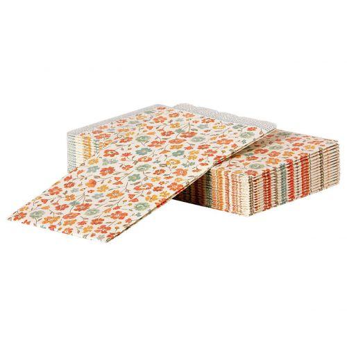 Maileg / Papierové obrúsky Spring Flowers - 16 ks