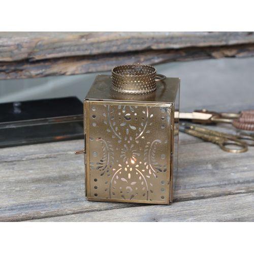 Chic Antique / Lampáš Antique Brass 14,5 cm