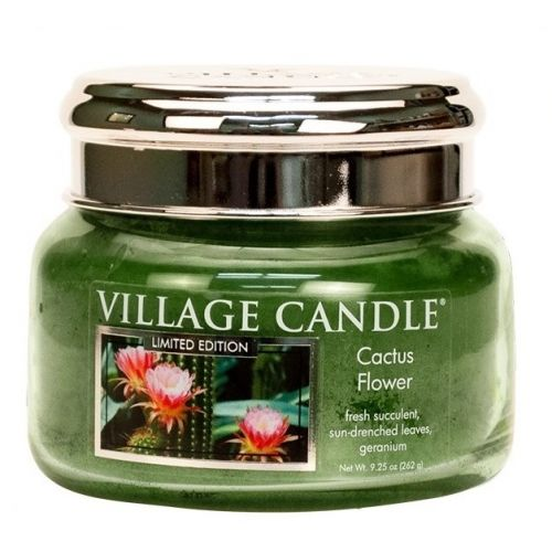 VILLAGE CANDLE / Sviečka Village Candle - Cactus Flower 262g