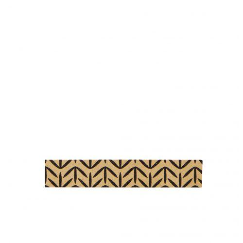 MADAM STOLTZ / Designová samolepící páska Highlights gold/black