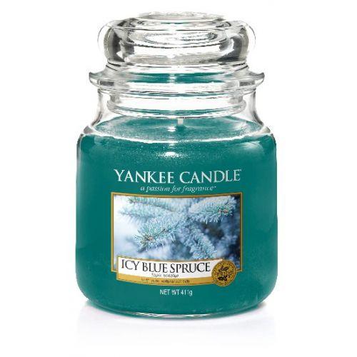 Yankee Candle / Sviečka Yankee Candle 411gr -Icy Blue Spruce