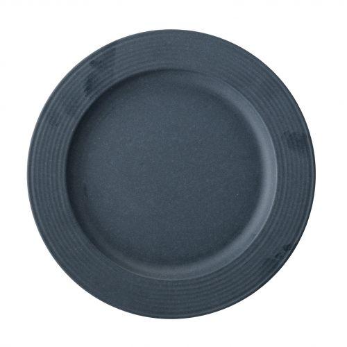 Bloomingville / Bambusový tanier Java Blue 20 cm