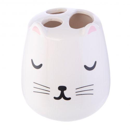 sass & belle / Stojanček na zubné kefky Cutie Cat