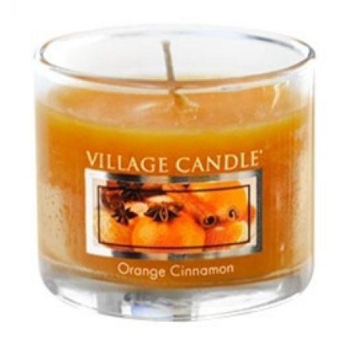 VILLAGE CANDLE / Mini svíčka Village Candle - Orange Cinnamon