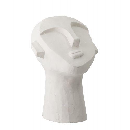 Bloomingville / Dekorácia Face White Cement