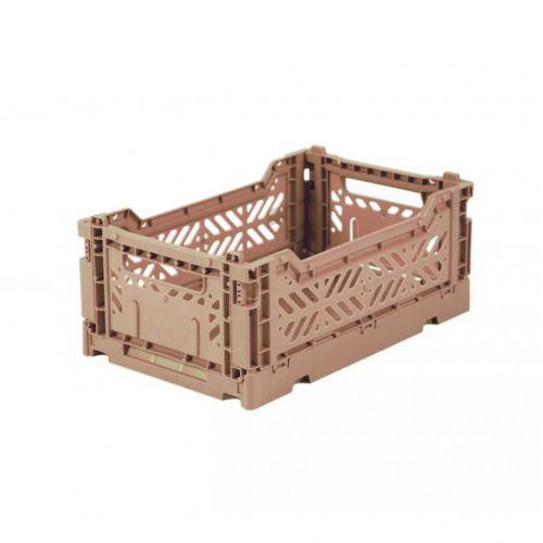 Ay-Kasa / Skladacia prepravka Warm Taupe – mini