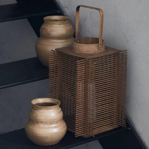 House Doctor / Bambusový lampáš Asi Natural