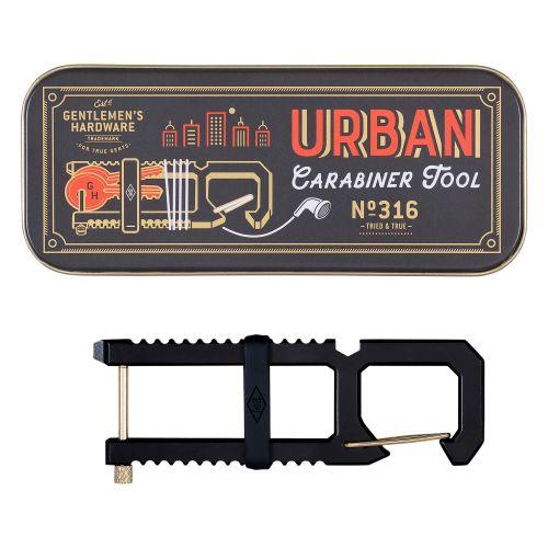 GENTLEMEN'S HARDWARE / Multifunkčná kľúčenka Urban Carabiner Tool