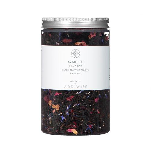 ADD:WISE / BIO čierny čaj s lesnými plodmi a kvety 100 g