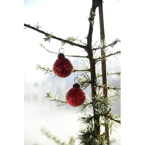 IB LAURSEN / Vianočná mini ozdoba Red pattern