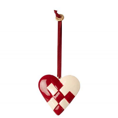 Maileg / Závesná vianočná ozdoba Braided Heart