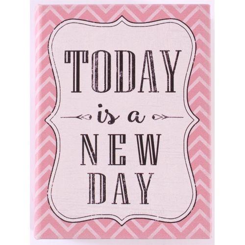 La finesse / Drevená kniha s úložným priestorom Today is a new day