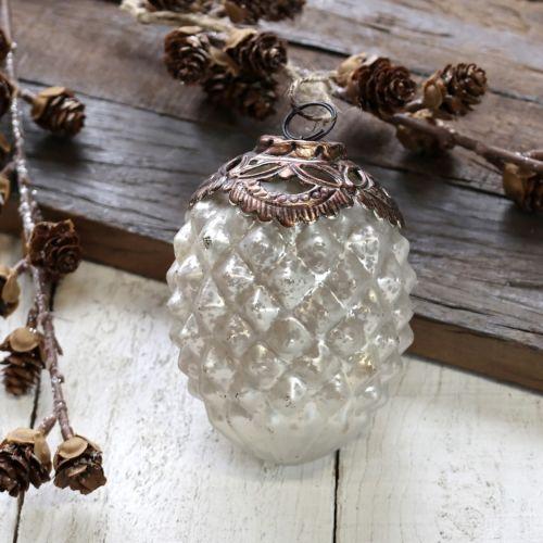 Chic Antique / Vianočná ozdoba Antique Decor White 11 cm