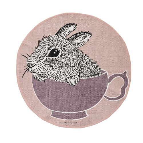 Bloomingville / Kobereček Rabbit in a Purple Cup
