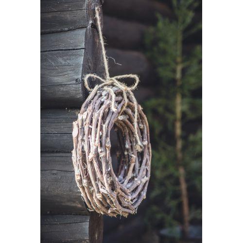IB LAURSEN / Dekoratívny veniec z vetvičiek - 40cm