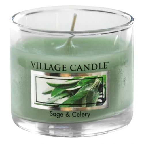 VILLAGE CANDLE / Mini sviečka Village Candle - Sage and Celery