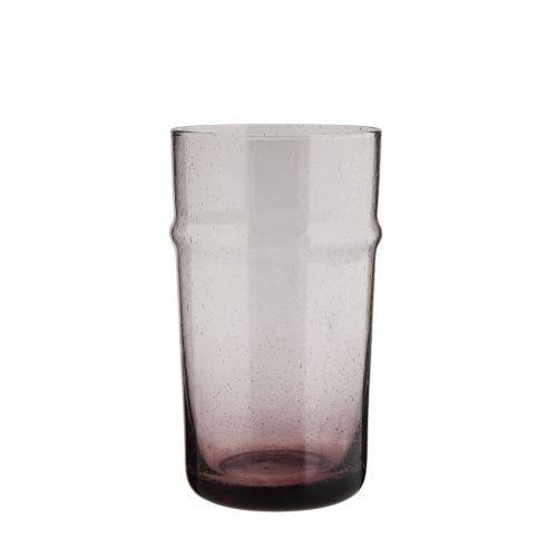 MADAM STOLTZ / Pohár Purple Glass Tall