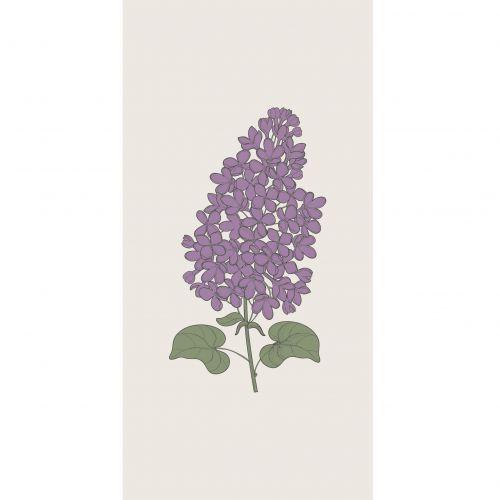 IB LAURSEN / Papierové obrúsky Lilac Flower