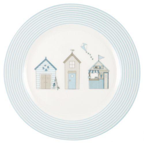 GREEN GATE / Detský porcelánový tanierik Ellison Pale Blue